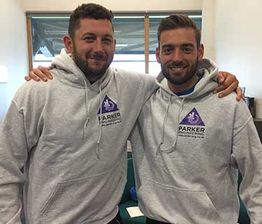 Parker Engineering Latest News -  Tim Bresnan and Jack Leaning
